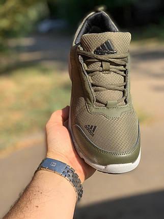 Кроссовки мужские Adidas Хаки, фото 2
