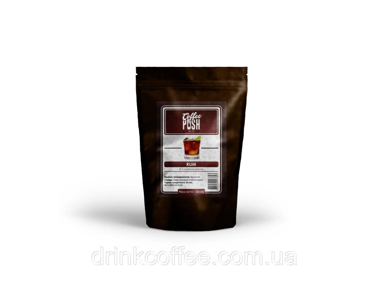 Кофе растворимый Ром, Бразилия, 100г