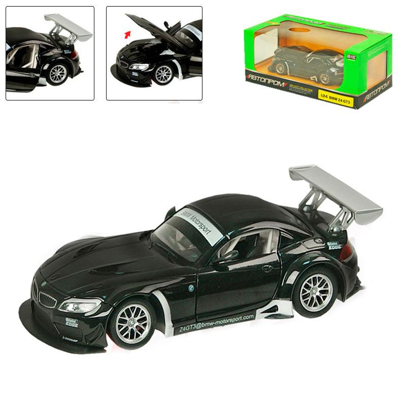 "Машинка металева ""BMW"" Z4 GT3 68251А"