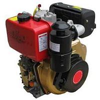 Дизельный двигатель 186F в сборе (ручной стартер) 9 л.с