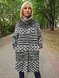 Женский кардиган из меха норка в роспуске, фото 3