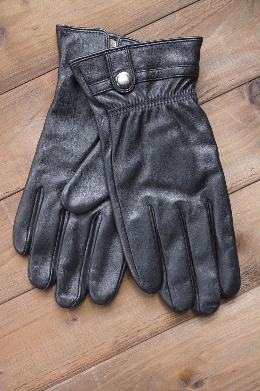 Мужские кожаные перчатки 1-936s2