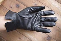 Мужские кожаные перчатки 1-936s2, фото 3