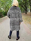 Женский кардиган из меха норка в роспуске, фото 4