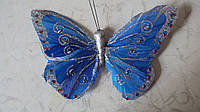 Бабочка декоративная размер 16*11
