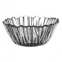 Набор салатников из прозрачного стекла d-14см