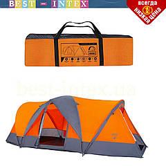 Четырёхместная палатка 68003 с антимоскитной сеткой
