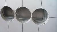 Висвердлювання отвору і встановлення підрозетника (гіпсокартон, газоблок)