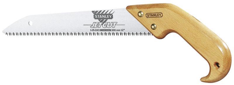 "Ножовка садовая 350 мм закаленный 3-гранный зуб ""JET-CUT""  STANLEY 1-15-259"