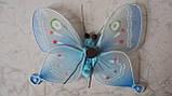Бабочка декоративная размер 14*10 см, фото 2