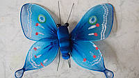 Бабочка декоративная размер 14*10 см