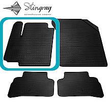 Suzuki Vitara  2015- Водительский коврик Черный в салон