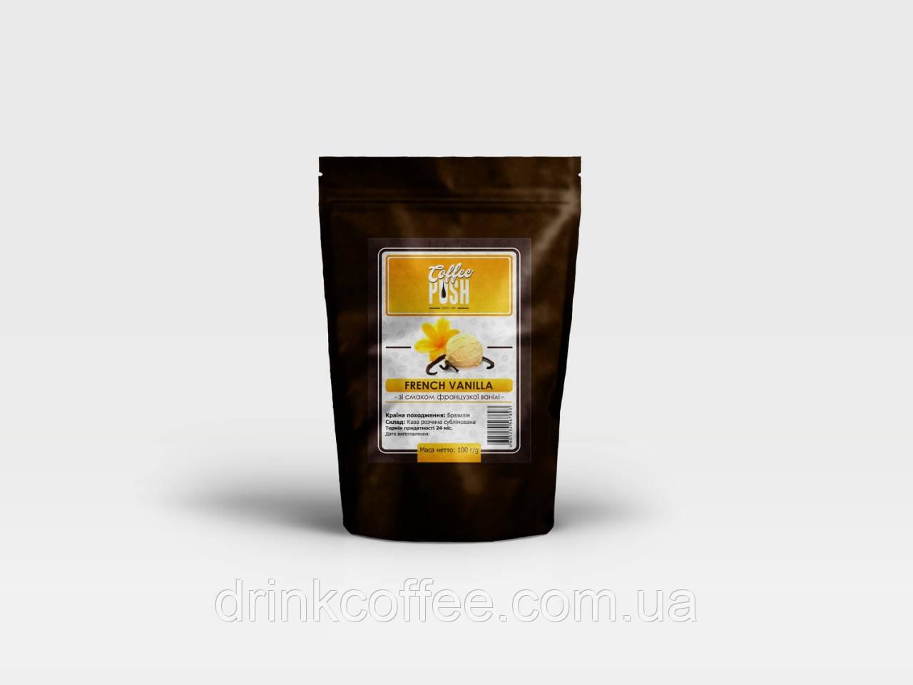 Кофе растворимый Французская ваниль, Бразилия, 50г