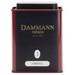 Зелений чай Сенча Dammann Freres 2 - Східна суміш з/б 100 р