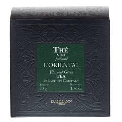 Зелений чай Сенча Dammann Freres Східна суміш в пакетиках 25 шт