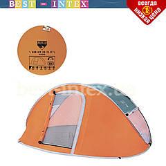 Туристическая палатка 68005 трёхместная