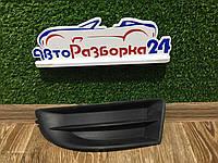 Решетка бампера левая для Skoda Octavia A5 Шкода Октавия А5 2008-2013, 1Z0807367B