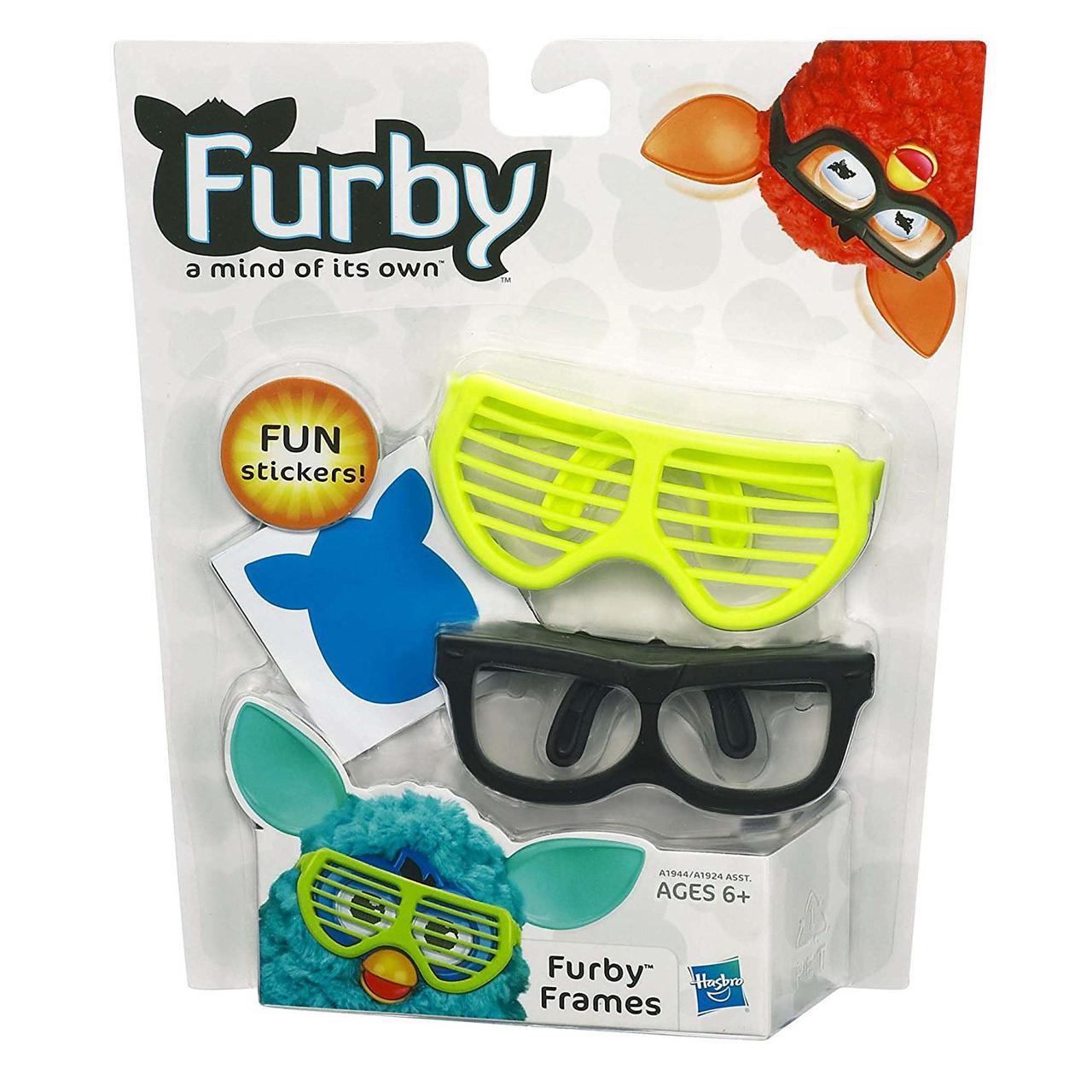 Очки для Ферби, желтые и черные (Furby Frames, Yellow, Black)