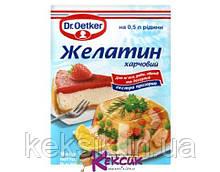 Желатин 9 гр DrOetker
