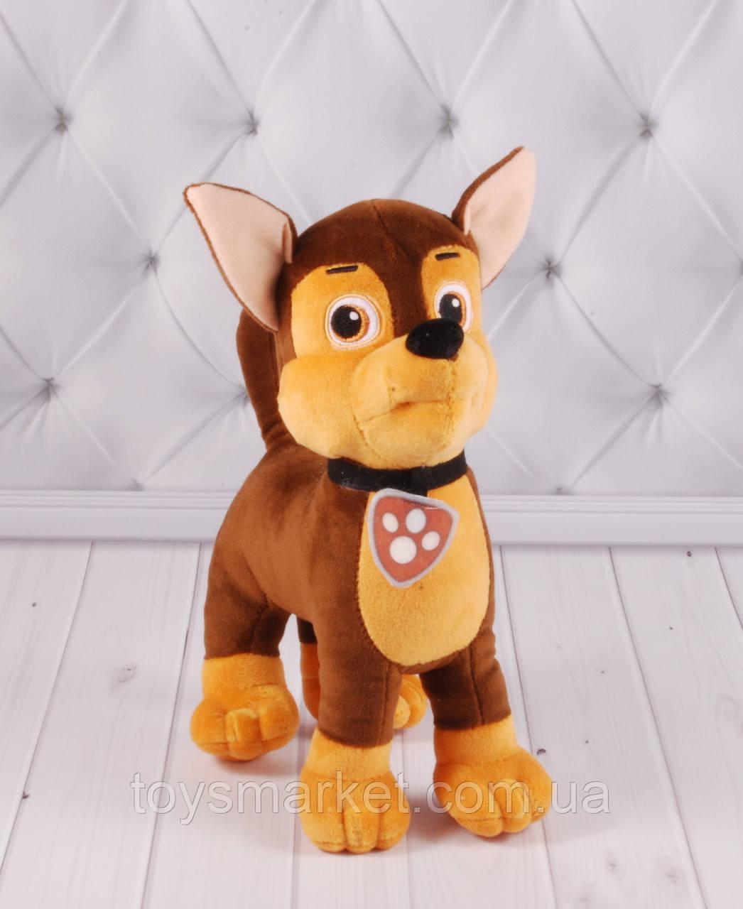 Мягкая игрушка щенок овчарка Товарищ, 32 см.