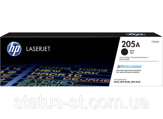 Заправка картриджа HP 205A black CF530A для принтера CLJ Pro M180n, M181fw, фото 2