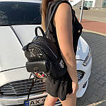 Стильный женский рюкзак  кожзам Супер качество (6274), фото 10