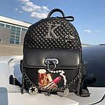 Стильный женский рюкзак  кожзам Супер качество (6274), фото 2