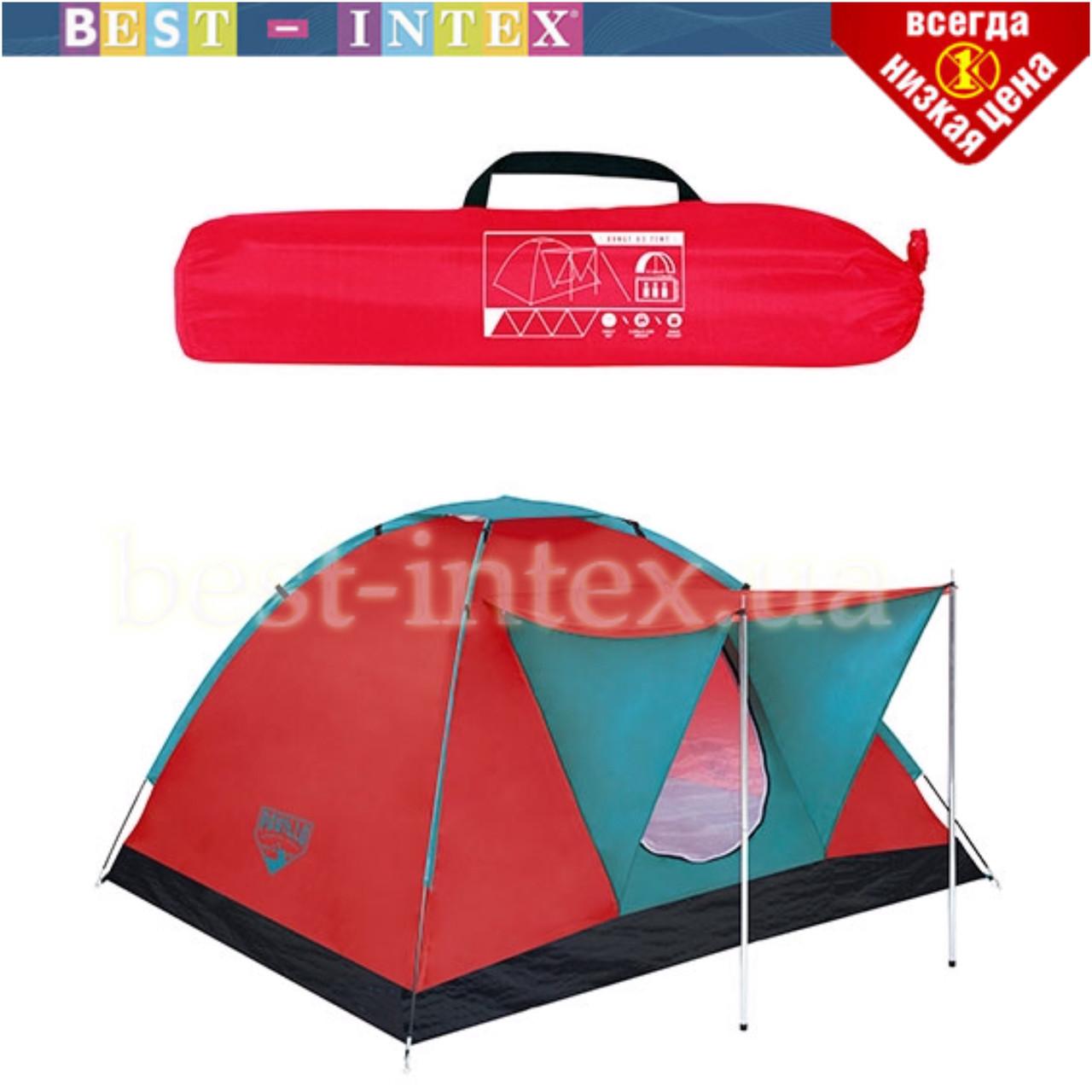 Туристическая палатка 68012 трёхместная