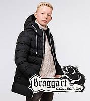 Braggart Kids   Куртка детская зимняя 65028 черная