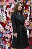 """Женское пальто букле на запах """"Adela"""" с поясом и карманами (4 цвета), фото 2"""