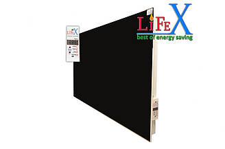 Керамическая панель отопления LIFEX КОП800 (черный)
