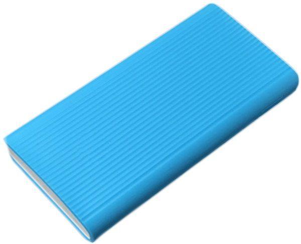 Силиконовый чехол для Xiaomi Mi Power bank 2C 20000mAh Blue