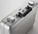 "Кейс-атташе 4"" алюминиевый Premier Zero Halliburton CP4-SI серебристый, фото 5"