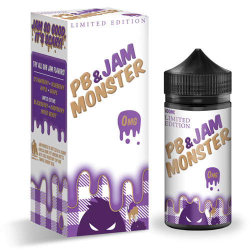 Jam Monster PB & Jam Monster Grape 100мл