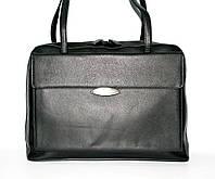 4-145.01 Портфель кожаный деловой женский под ноутбук