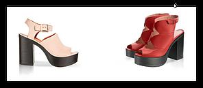 Подошва для обуви женская C 715 чорна р.36-41, фото 3