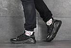 Мужские кроссовки Adidas (черные), фото 3