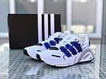 Мужские кроссовки Adidas (бело-синие), фото 5
