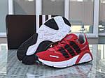 Чоловічі кросівки Adidas (червоні), фото 3