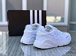 Мужские кроссовки Adidas (белые), фото 3