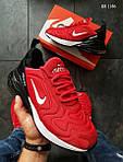 Мужские кроссовки Nike Air Max 270 (красно/черные), фото 3
