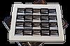 """Шоколадный набор """"Black chocolate for men"""" 100 г. (черный шоколад) ( 20 плиточек х 5 г.), фото 2"""
