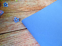 УЦЕНКА, фоамиран 1 мм, 50х50 см, цвет ВАСИЛЬКОВЫЙ