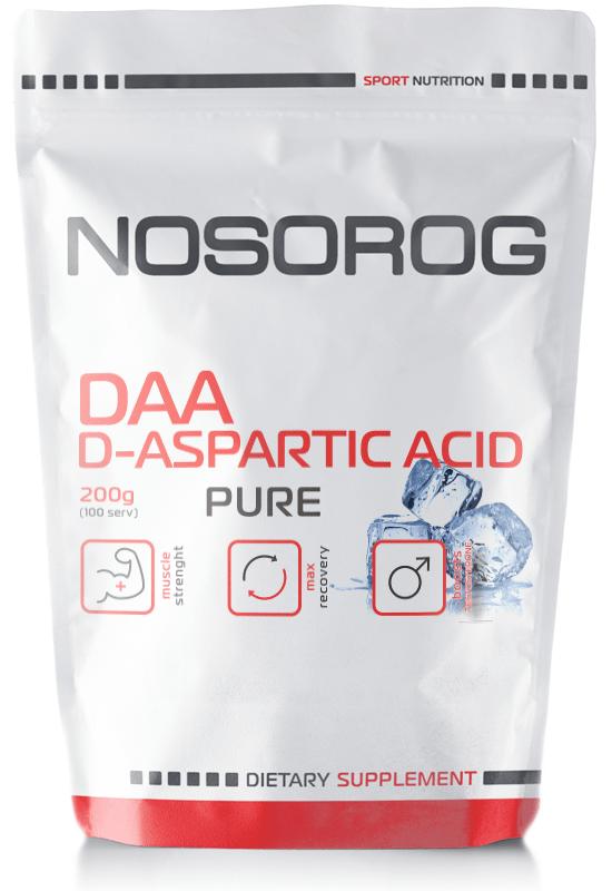 Д-аспарагиновая кислота NOSOROG DAA 200 g для увеличения тестостерона