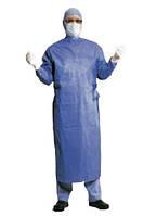 Халат хірургічний, одноразовий, використання підвищенної ефективності L