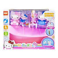 Набор мебели с фигурками Hello Kitty. Ванная