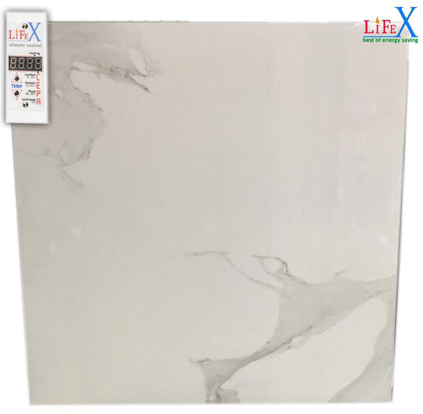 Керамический био конвектор инфракрасный LIFEX ТКП700 (белый мрамор)