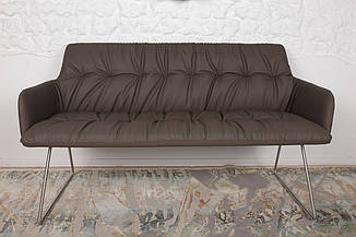 Кресло - банкетка LEON (Леон) мокко от Niсolas, кожзам