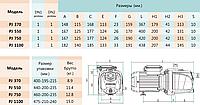 Відцентровий самовсмоктуючий насос SHIMGE PJ1100, фото 3