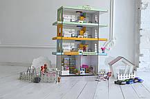 Радужная Многоэтажка + мебель +текстиль +свет + Дворик, фото 2